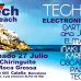 "Vuelve ""TECHNOPOL"" VOLTECH  on the beach - Sabado 27 Julio"
